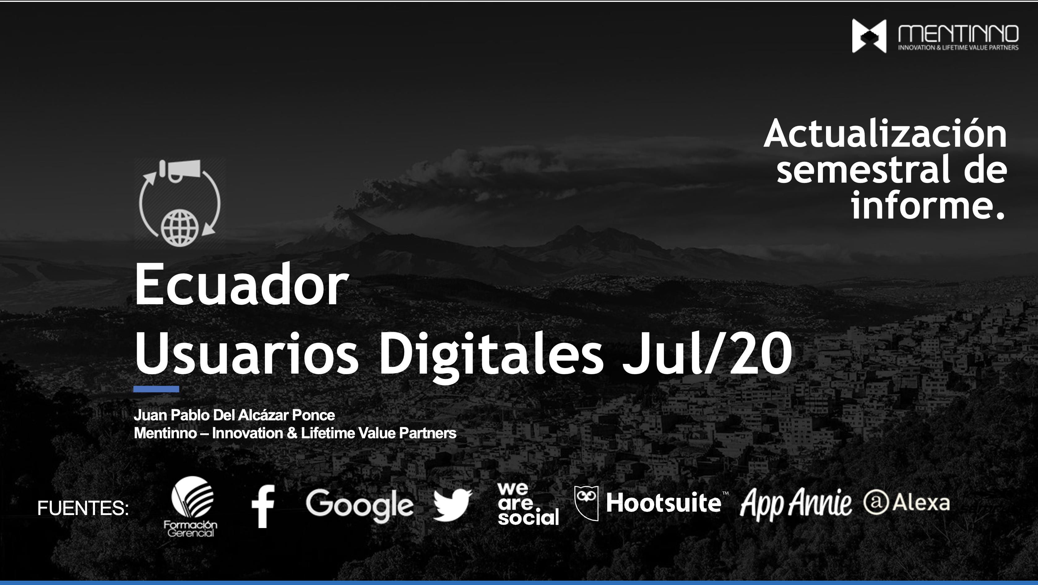 Estado Digital Ecuador Actualización Julio 2020
